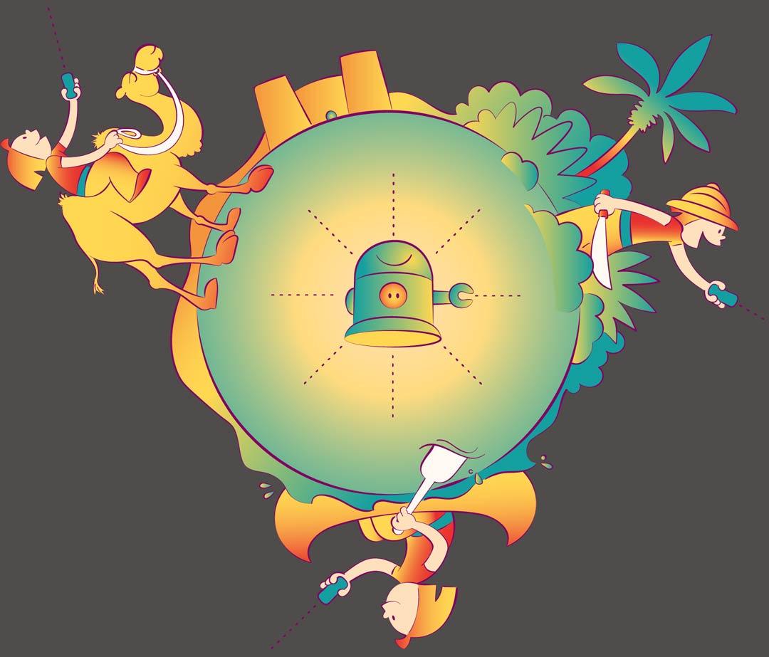 Illustration von Lisa Manneh