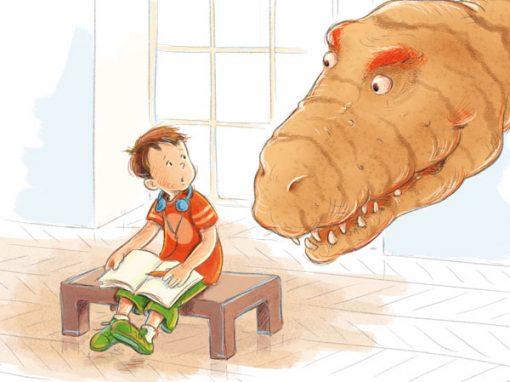 Kinderbuch Dinoschreck