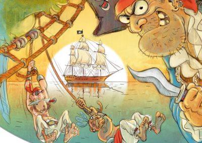 Kinderbuch Piraten